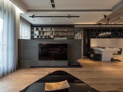 台式风格-120平米三居室装修样板间