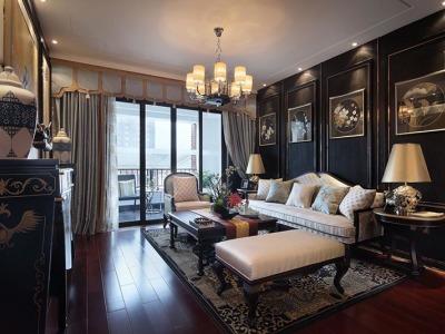 新古典风格-143平米三居室装修样板间