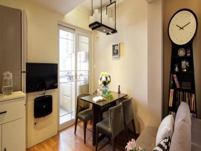 现代简约-51平米一居室装修样板间
