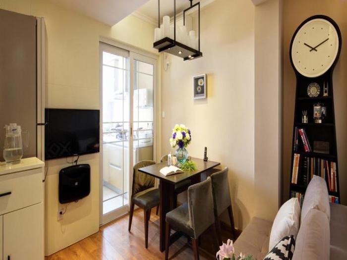 现代简约-51平米一居室-装修样板间