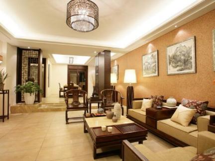 中式风格-260平米四居室整装装修样板间