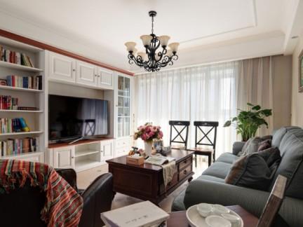 欧美风情-169平米四居室整装装修样板间