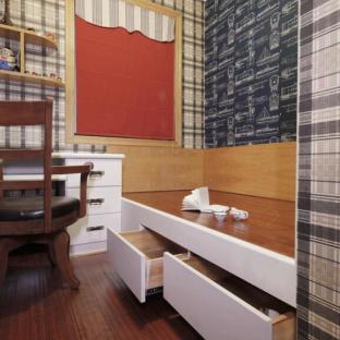新古典风格二居室书房装修效果图