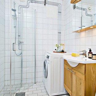 田园风格二居室卫生间装修效果图