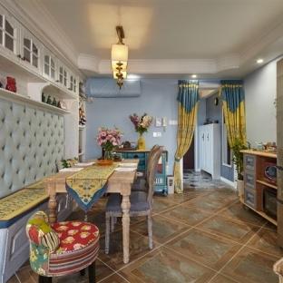新古典风格二居室餐厅装修效果图