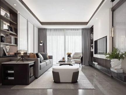 现代简约-180平米四居室整装装修样板间