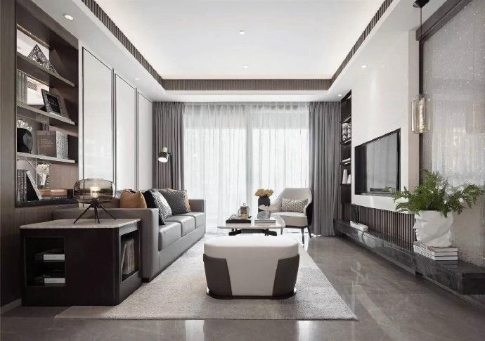 现代简约-180平米四居室整装-装修样板间