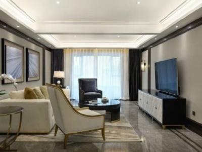 现代简约-145平米三居室整装装修样板间