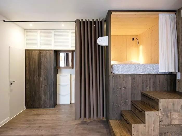 现代简约-38平米一居室-装修样板间