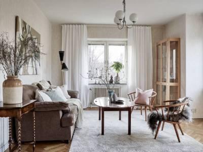 欧美风情-89平米三居室整装装修样板间