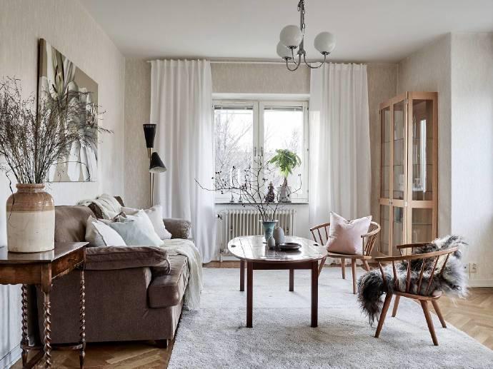 欧美风情-89平米三居室整装-装修样板间