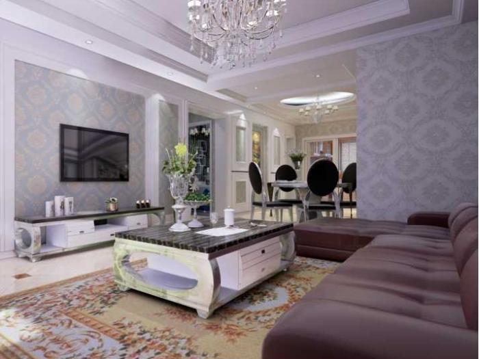 简欧风格-92平米三居室整装-装修设计