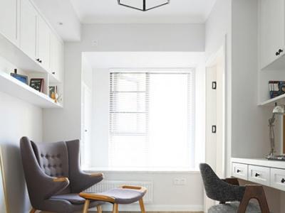 现代简约-105平米三居室整装装修样板间
