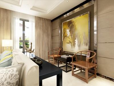现代简约-200平米三居室装修样板间