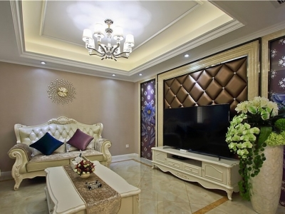 简欧风格-143.15平米四居室整装装修设计