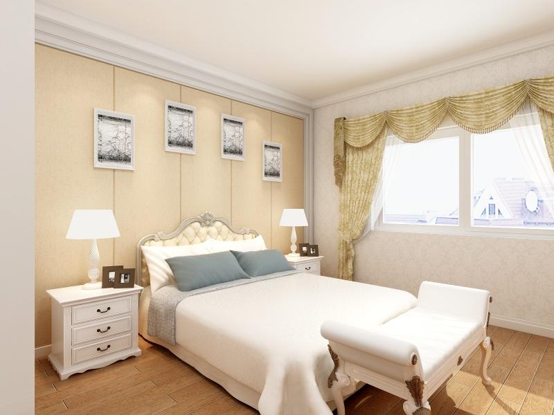 93平欧式风三居,稳重浪漫的婚房设计!