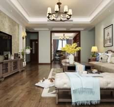 松湖豪庭简欧风格三居室
