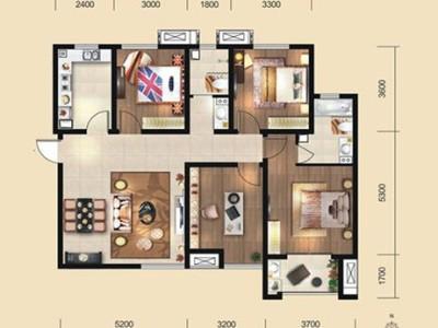 现代简约-140平米四居室整装装修样板间