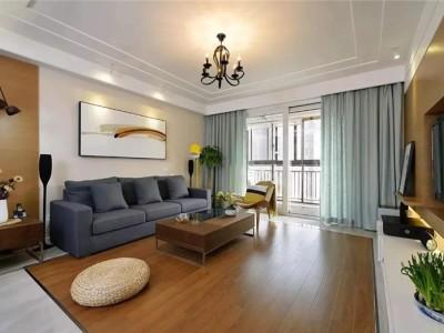 现代混搭风-170平米四居室装修样板间