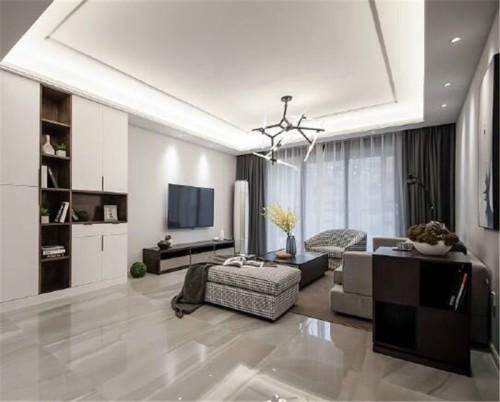 中贸广场137平四居室简约风格