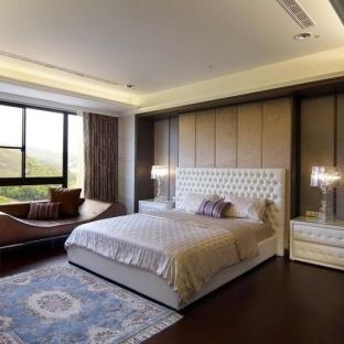 新古典风格三居室卧室装修效果图