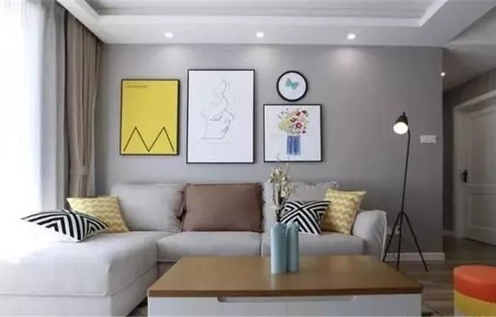 现代简约-105.65平米三居室-装修样板间