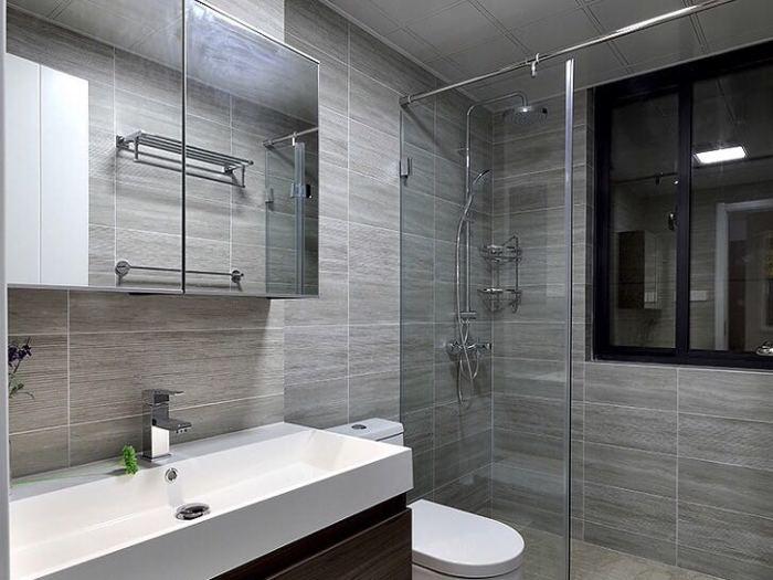 中式风格-105平米三居室-装修样板间