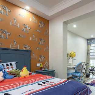 美式四居室儿童房装修效果图