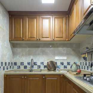 美式四居室厨房装修效果图