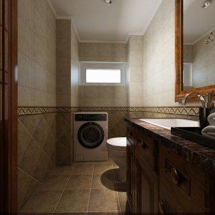 中式风格四居室卫生间装修效果图