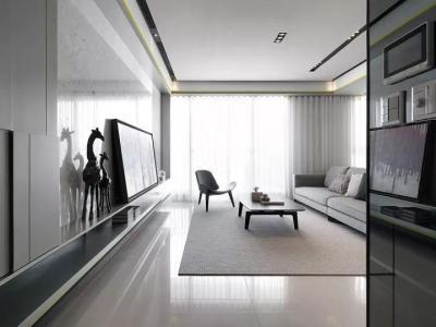 现代简约-148平米三居室装修样板间