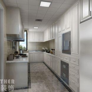 简欧风格四居室厨房装修效果图