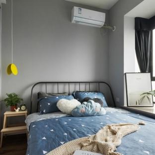 北欧风格二居室卧室装修效果图
