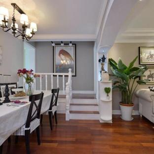 混搭风格四居室餐厅装修效果图