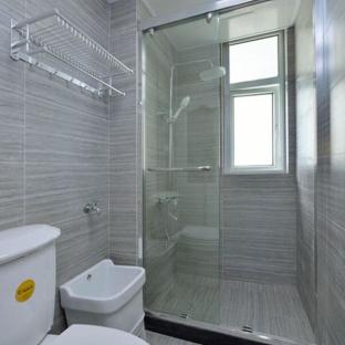 混搭风格四居室卫生间装修效果图