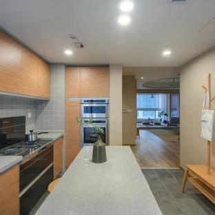 日韩风格五居室厨房装修效果图