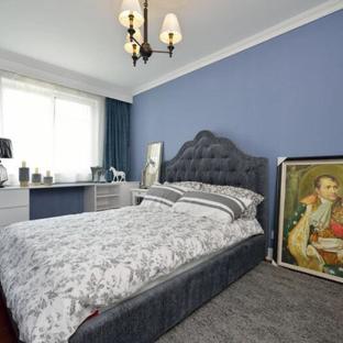 混搭风格四居室卧室装修效果图