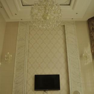 现代简约五居室客厅装修效果图