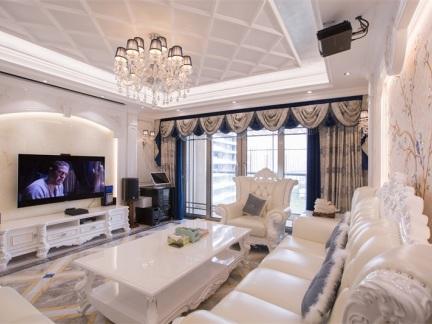 245平欧式风 展示家居空间的稳重与质感