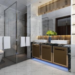 现代简约五居室卫生间装修效果图