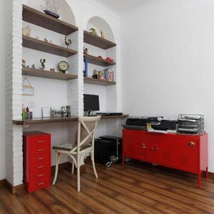 地中海风格二居室书房装修效果图