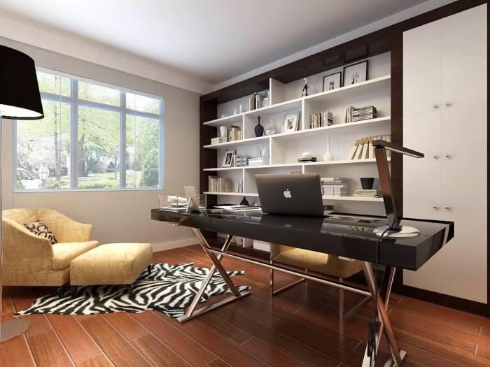 简欧风格-143平米三居室-装修样板间