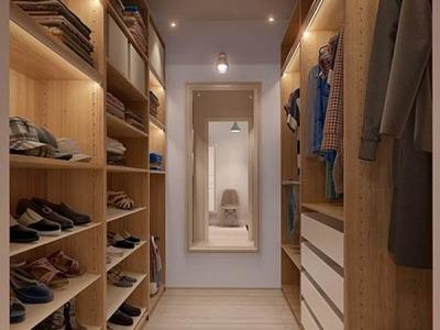 现代简约-131.44平米三居室整装装修样板间