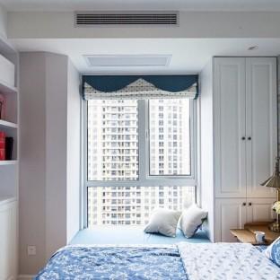 欧美风情二居室卧室装修效果图