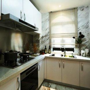 欧美风情三居室厨房装修效果图