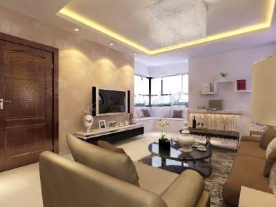 现代简约-60平米二居室装修设计