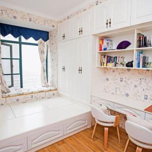地中海风格三居室书房装修效果图