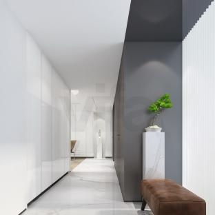 现代简约四居室玄关装修效果图