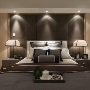 新中式风格四居室卧室装修效果图