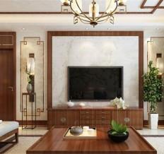 西安装修梧桐年华127平三室两厅中式装修案例